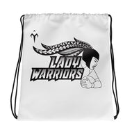Lady Warriors Rugby Drawstring bag