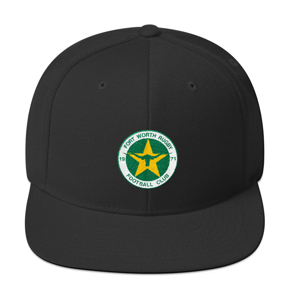 Fort Worth Rugby Snapback Hat