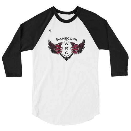 Gamecock WRC 3/4 sleeve raglan shirt