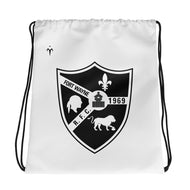 Fort Wayne Rugby Black Drawstring bag