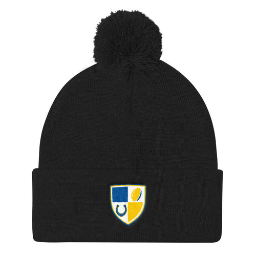 New Haven Rugby Pom Pom Knit Cap