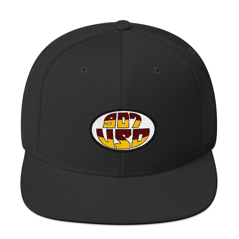 907 Brothers Rugby Snapback Hat