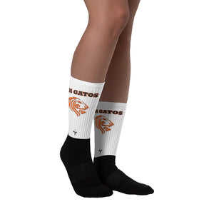 Los Gatos Lions Black foot socks