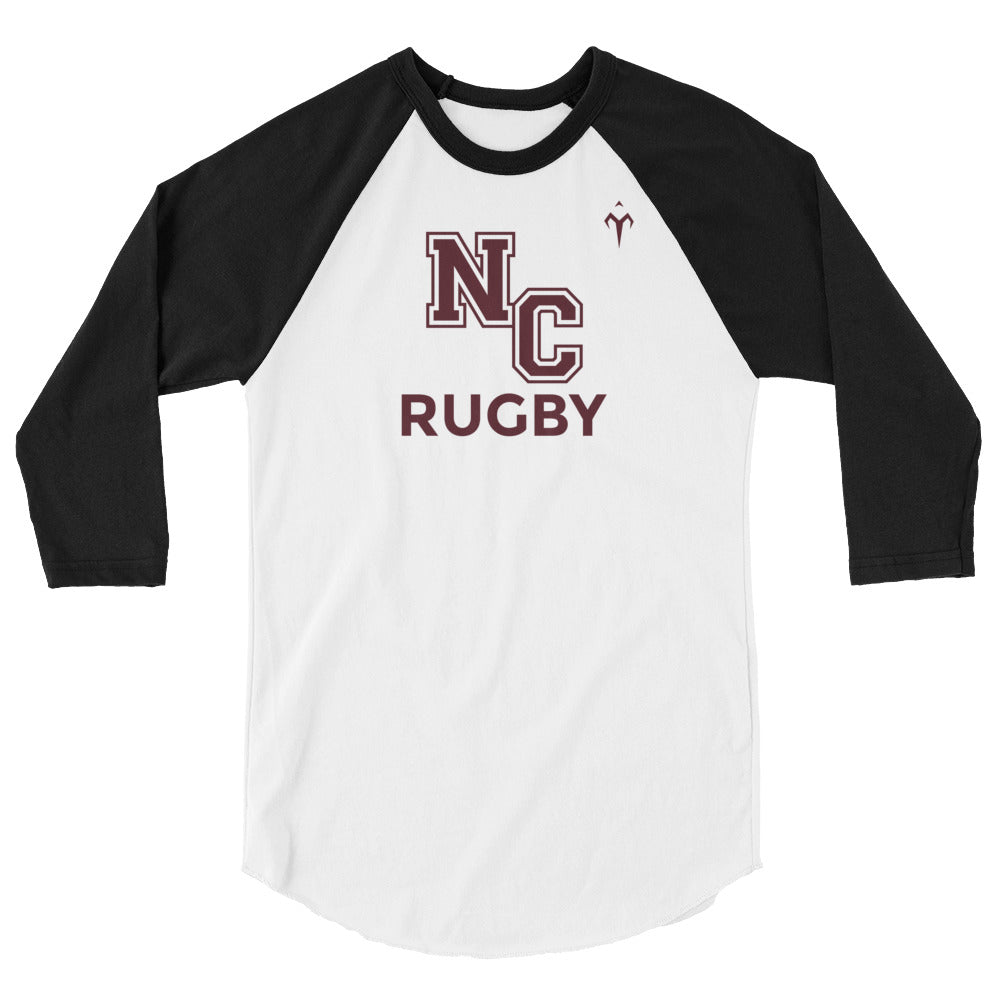 Norco Rugby 3/4 sleeve raglan shirt