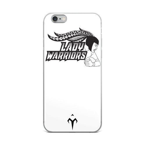 Lady Warriors Rugby iPhone Case