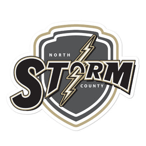 North County Storm Rugby Bubble-free stickers