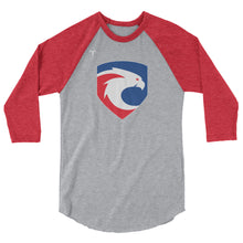 Freeborn Eagles Rugby 3/4 sleeve raglan shirt