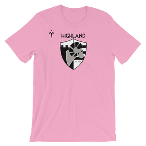 Highland Unisex short sleeve t-shirt