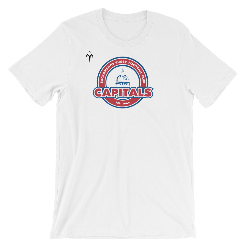 Capitals Rugby Short-Sleeve Unisex T-Shirt