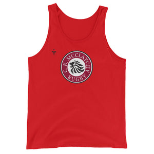 C.K. McClatchy Rugby Unisex  Tank Top