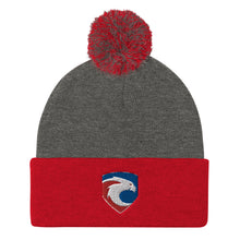 Freeborn Eagles Rugby Pom Pom Knit Cap