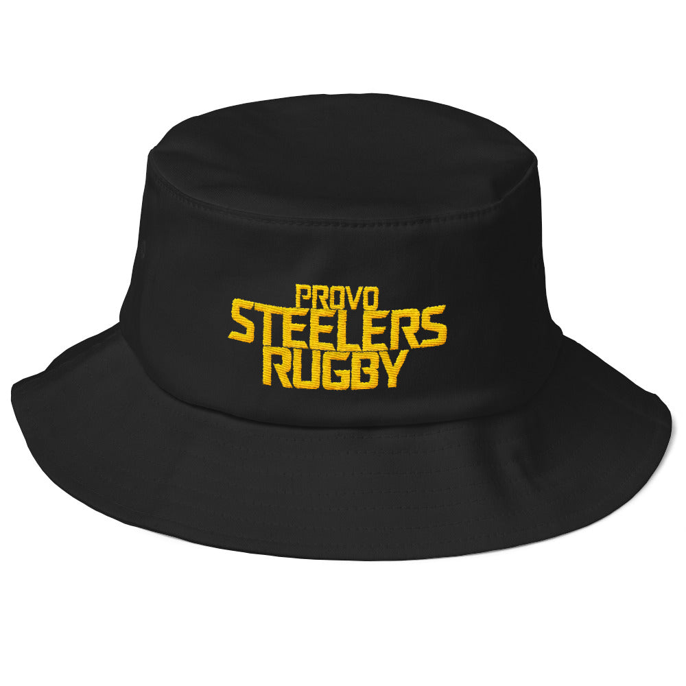 Provo Steelers Rugby Old School Bucket Hat