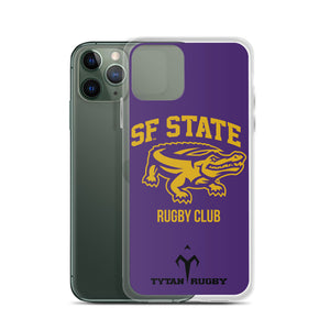 San Francisco State University Rugby iPhone Case