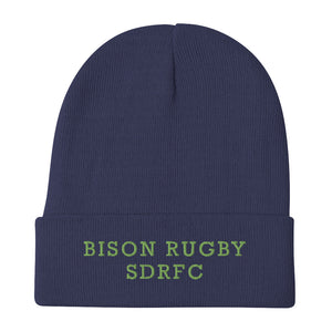 South Davis Bison Embroidered Beanie