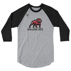 Dillon RFC 3/4 sleeve raglan shirt