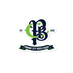 Panama City Beach Rugby Bubble-free stickers