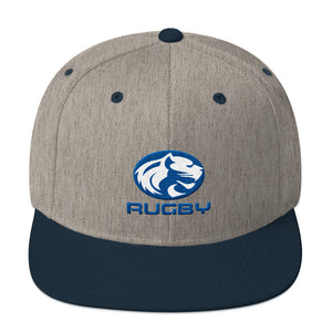 Cougar Rugby Snapback Hat