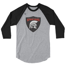 Salt Lake Spartans Rugby 3/4 sleeve raglan shirt