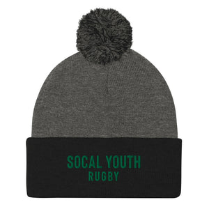 SoCal Youth Rugby Pom-Pom Beanie