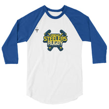 Provo Steelers 3/4 sleeve raglan shirt