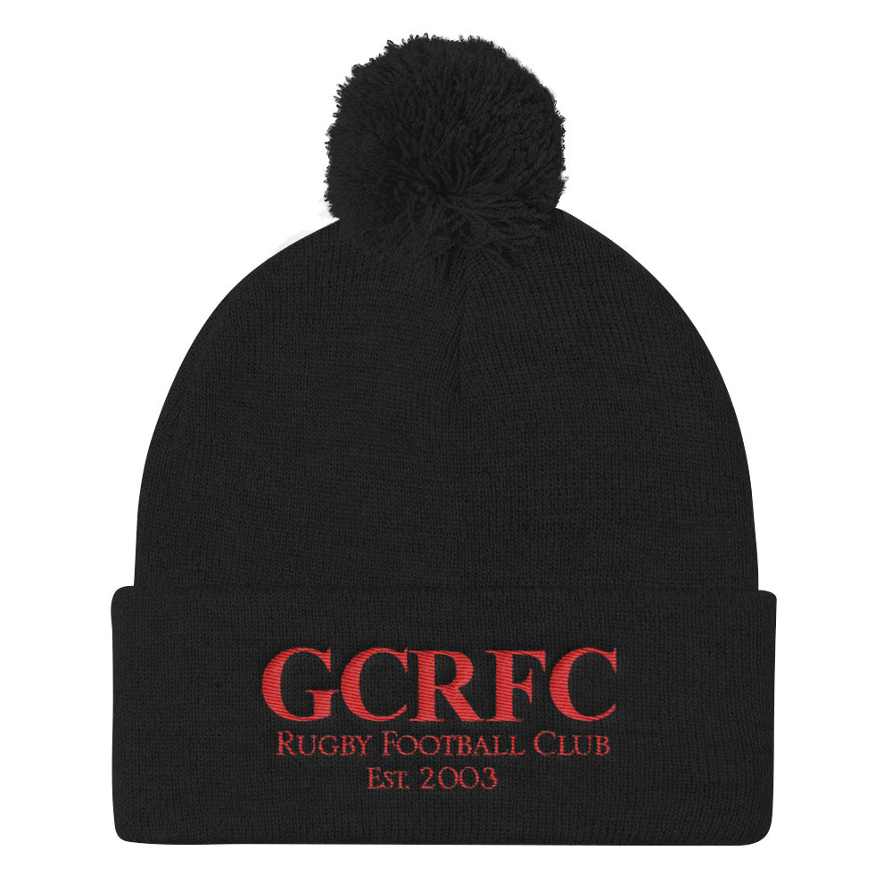 Gaston County Gargoyles Rugby Sportsman SP15 Pom Pom Knit Cap