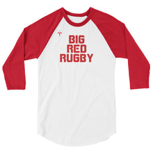 Big Red Rugby 3/4 sleeve raglan shirt