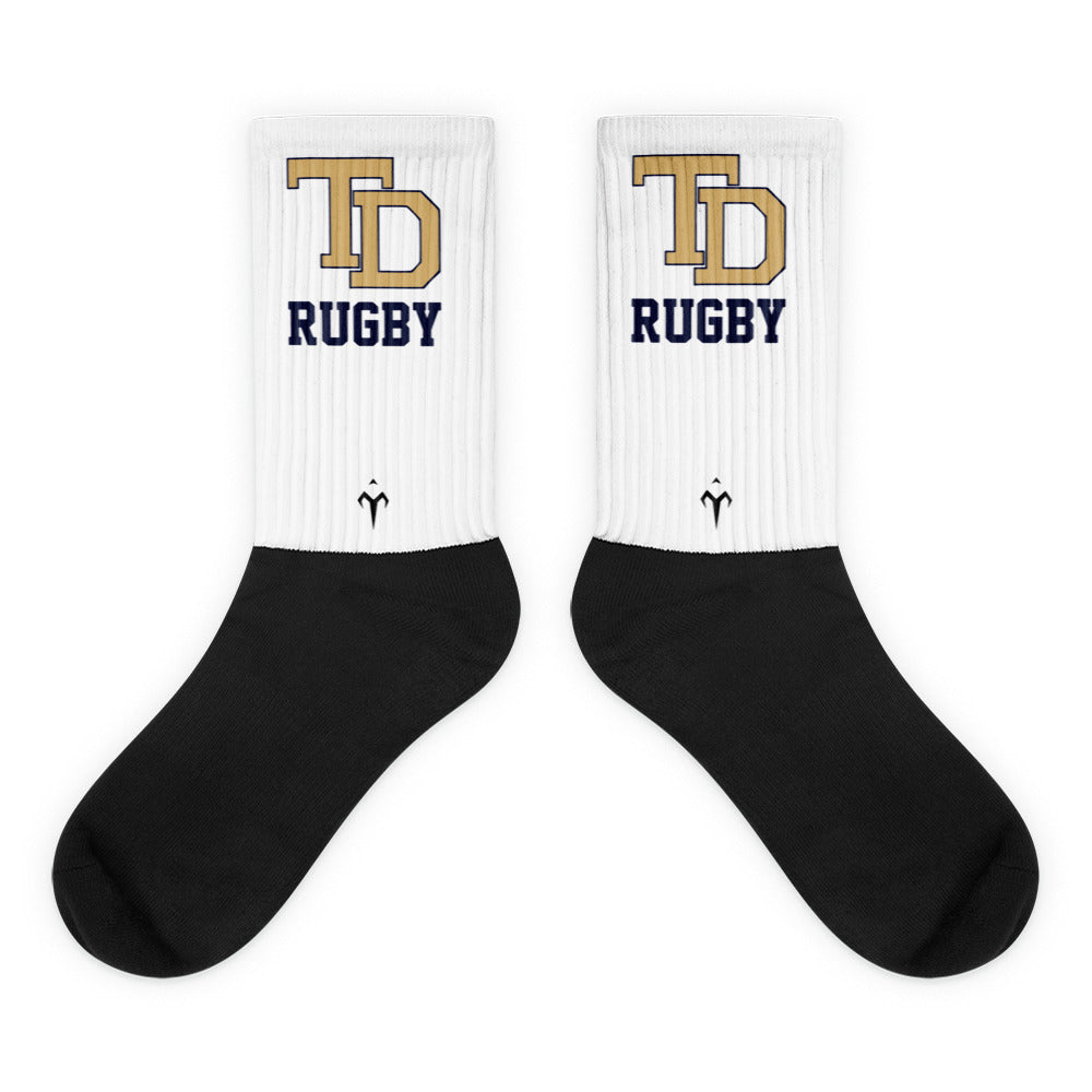 Thornton Donovan Black foot socks