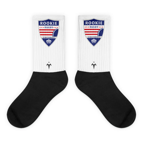Cincinnati Rookie Rugby Black foot socks