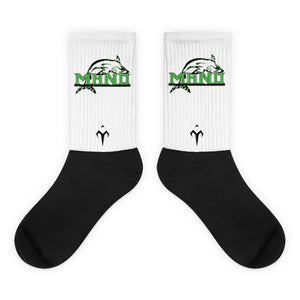 Mano Black foot socks