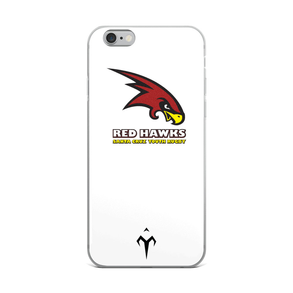 Santa Cruz Red Hawks Rugby iPhone 5/5s/Se, 6/6s, 6/6s Plus Case