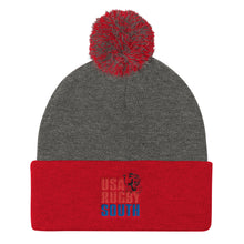 USA Rugby South Pom Pom Knit Cap