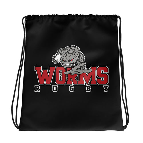Westerville Worms Rugby Drawstring bag