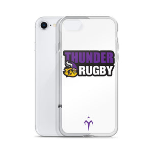Thunder Rugby iPhone Case