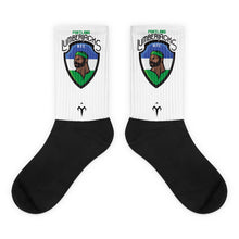Lumberjacks Black foot socks