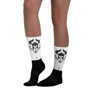 N. Texas Barbarians Black foot socks