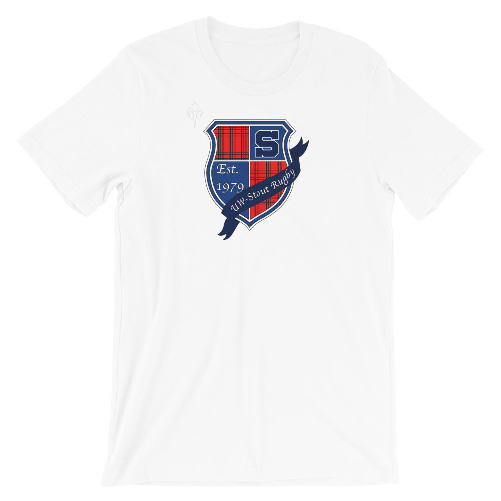 UW Stout Rugby Short-Sleeve Unisex T-Shirt