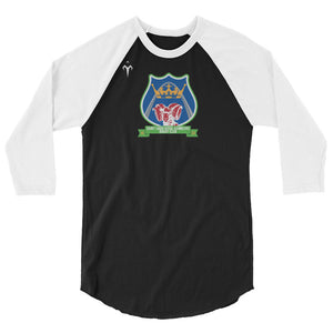 Royal Ramblers 3/4 sleeve raglan shirt