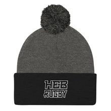 HEB Hurricanes Rugby Pom Pom Knit Cap
