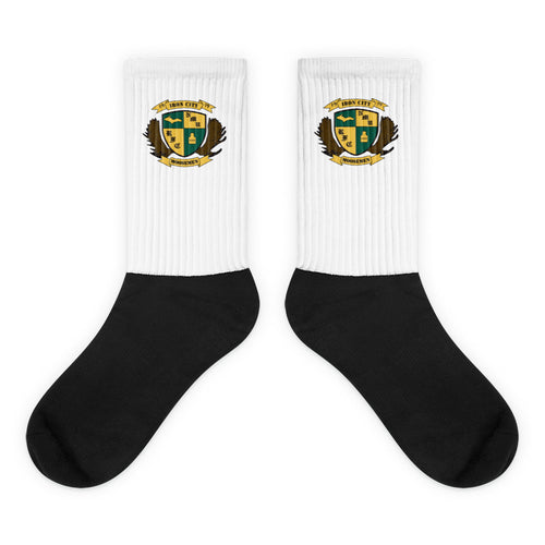 Moosemen Rugby Black Foot Sublimated Socks