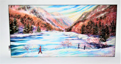 Tableau Parc de la Jacques cartier A 12x24