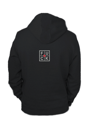 FUCK AVERAGE PULLOVER HOODIE