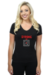 STRONG AS FUCK - LADIES T-SHIRT