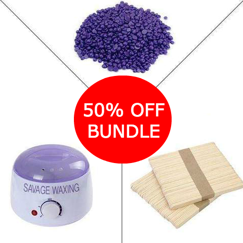 Painless Wax, Pot, Spatula Bundle