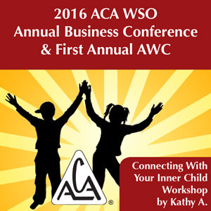 2016 AWC - Kathy A - Connecting with your Inner Child Workshop (CD not available; download only)