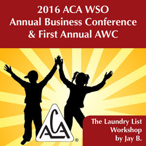 2016 AWC Jay B - The Laundry List Workshop (CD not available; download only)