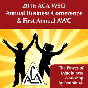 2016 AWC - Bonnie M - The Power of Mindfulness Workshop (CD not available; download only)