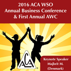 2016 AWC - Keynote Speaker - Majbrit M (CD not available; download only)
