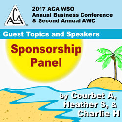 2017 AWC - Courbet A, Heather S, Charlie N - Sponsorship Panel (CD not available; download only)