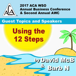 2017 AWC - David McB, Barb N  - Using the 12 Steps (CD not available; download only)