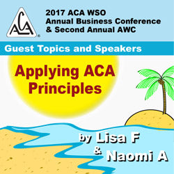 2017 AWC - Lisa F, Naomi A - Applying ACA Principles (CD not available; download only)